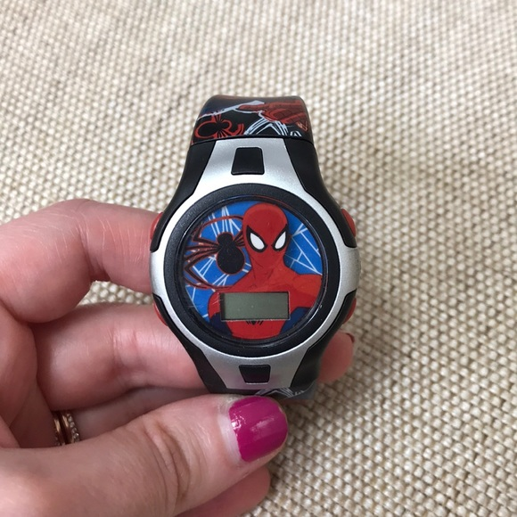 Spider-Man watch—Free with Kids Purchase!